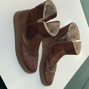 Frye shearling boots